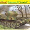 3.7 cm FlaK 43 Flakpanzer IV Ostwind - DML-6550