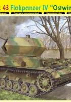 3.7cm FlaK 43 Flakpanzer IV Ostwind - DML 6550