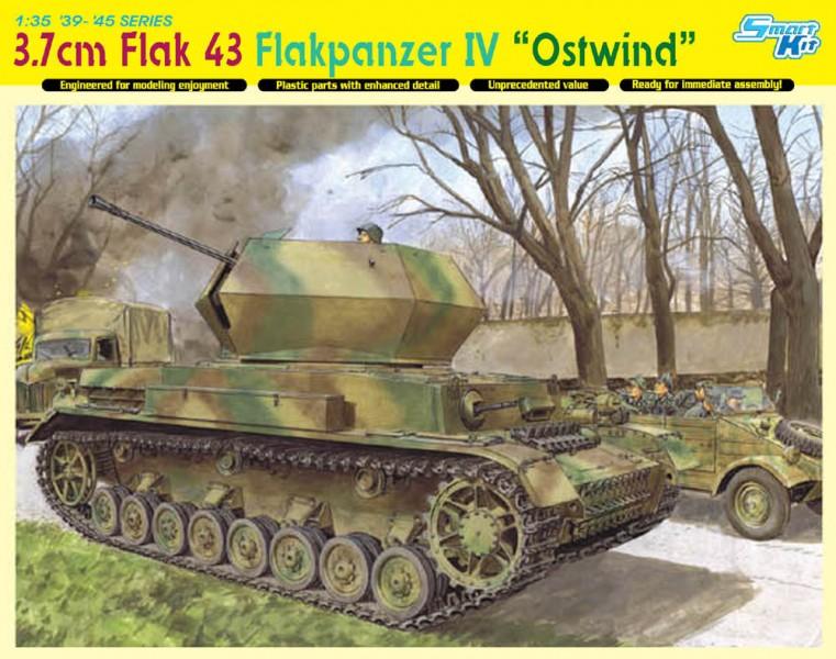 3.7 cm FlaK 43 Flakpanzer IV. Ostwind - DML 6550