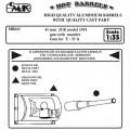 45 mm 20 K modelu 1934 zbraň s štítu - Zbraň pro T-35 A - CMK HB045