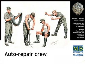 Auto-Reparation Crew - Master Box MB3582