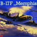 B-17Ф Memphis Belle - Ревелл 4279