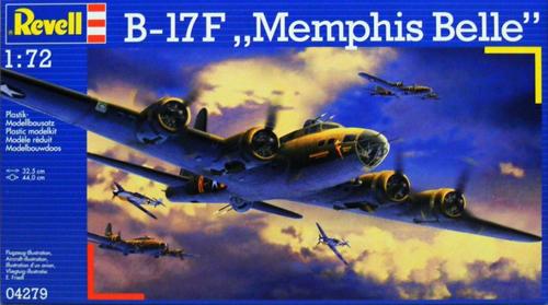 B-17F Memphis Belle Revell 4279