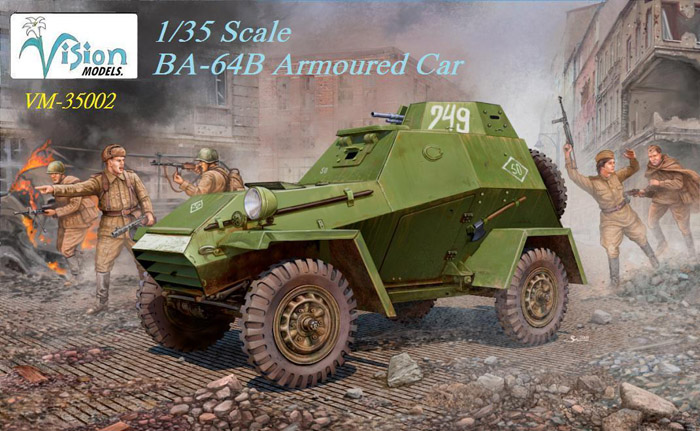 BA-64B Armored Car - Vision Models VM-35002