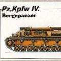 Bergepanzer IV 수지 kit-CMK MV022