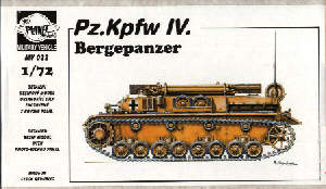 Bergepanzer IV resin kit - CMK MV022