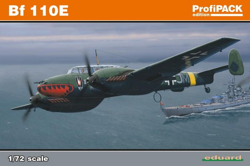 Bf 110E ProfiPack Édition - Eduard 7083