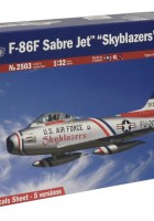 F-86F Sabre Jet Skyblazers - ITALERI 2503
