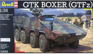 Боксер ГТК (GTFz) - Ревелл 03093