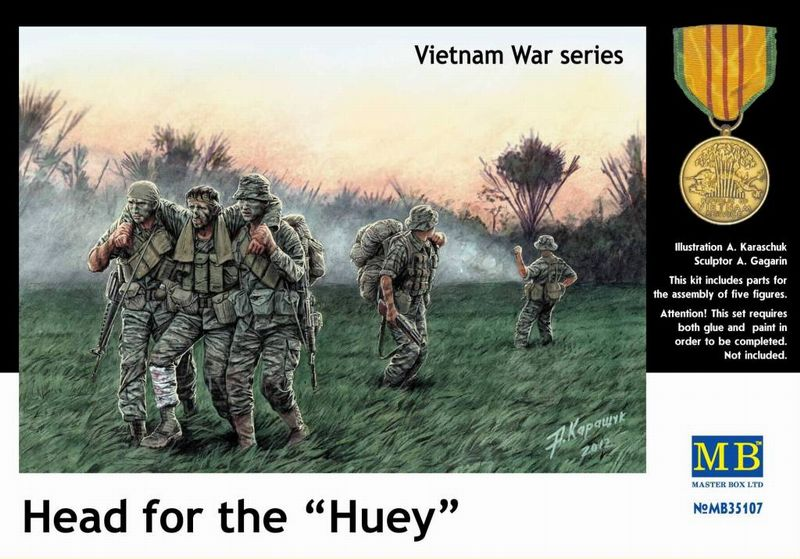 Head for the Huey - Vietnam series Master Box MB35107