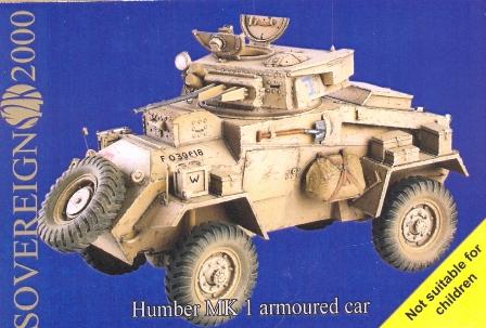 Humber MK I Šarvuotų Automobilių - Valstybės S2KV014
