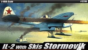 ИЛ-2 Напад са лыжами - академија 12286