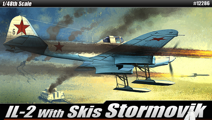 IL-2 으로 스키 Stormovik-12286 아카데미