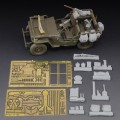Willys Jeep Harpiks og metall, foto-etset kit - Royal Modell 605