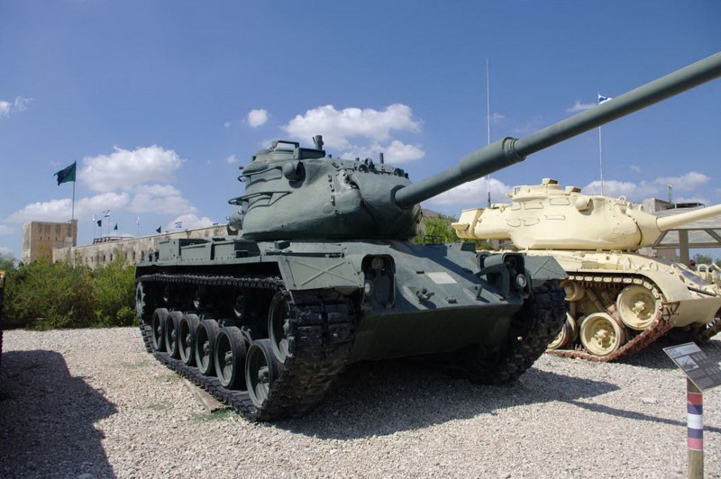M47E2 Patton - Rundgang