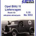 Opel Blitz 1t Van - Dnepromodel 3553