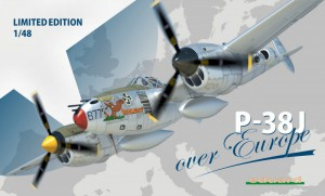 P-38J över Europe Limited Edition - Eduard 1170