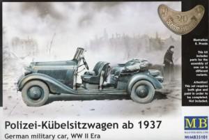 Polizei-Kübelsitzwagen ab 1937 - Master Box MB35101