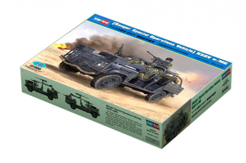 Ranger Special Operations Vehicle RSOV w/MG - HOBBY BOSS 82450