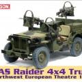SAS Raider 4x4 Truck - Severozápad Európskeho Divadla 1944 - DML 75042