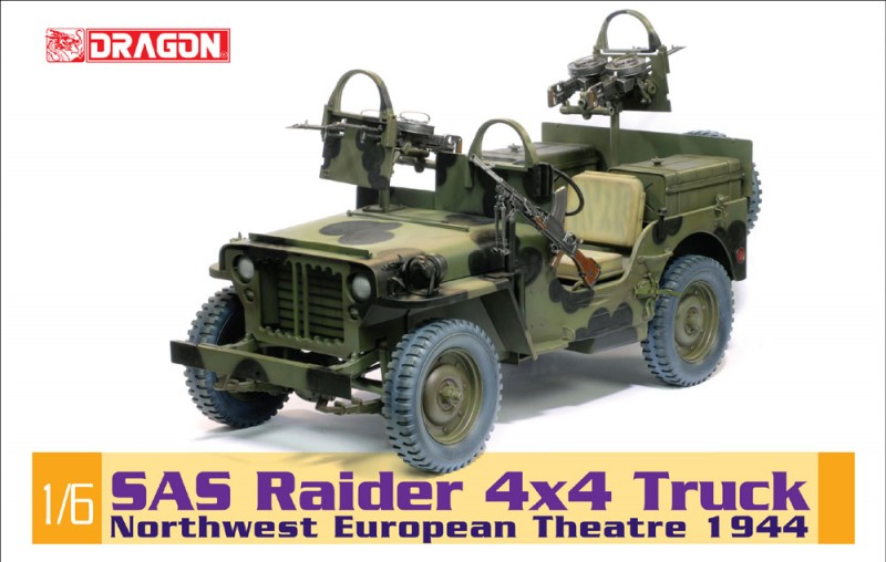 SAS Raider 4x4 Truck - Noordwest-Europese Theater 1944 - DML-75042