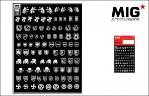 SS-VÅPEN enhet simbols - MIG MW 3-222