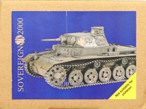 Sd Kfz 141 Panzer III Ausf En ikke - statslig S2KV005