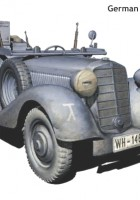 Sd.Kfz. 2 Typ 170VK - German military radio car - Master-Box MB3531