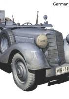 Sd.Kfz. 2 Type 170VK - German military radio car - Master Box MB3531
