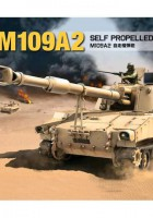 Self-Propelled Howitzer M109A2 - Kinetic K61006