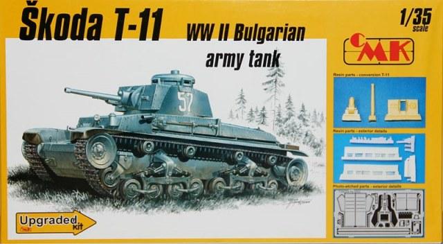 Skoda T-11 de la seconde GUERRE mondiale bulgare Réservoir - CMK T35026