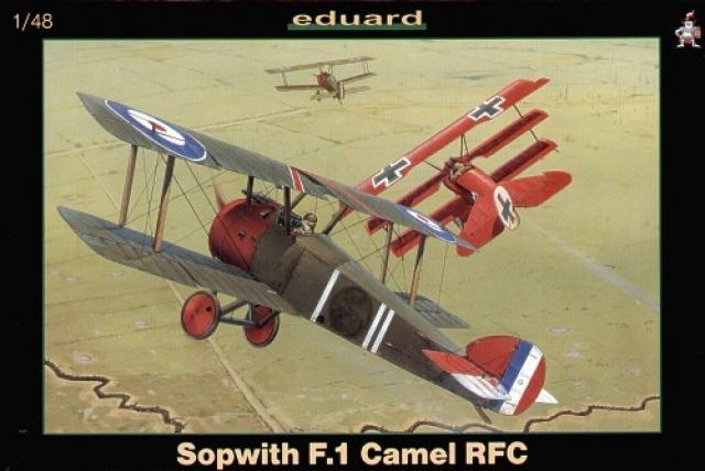 Sopwith F.1 Camel RFC - Eduard 8057