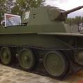 Nõukogude ratsaväe tank BT-7 - Jalutada