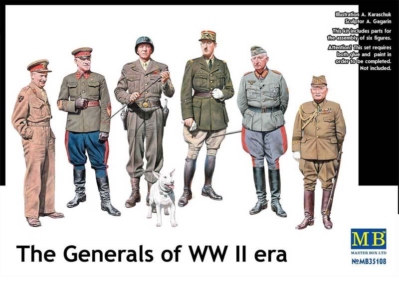 Les Généraux de la seconde guerre mondiale - la Boîte principale MB35108