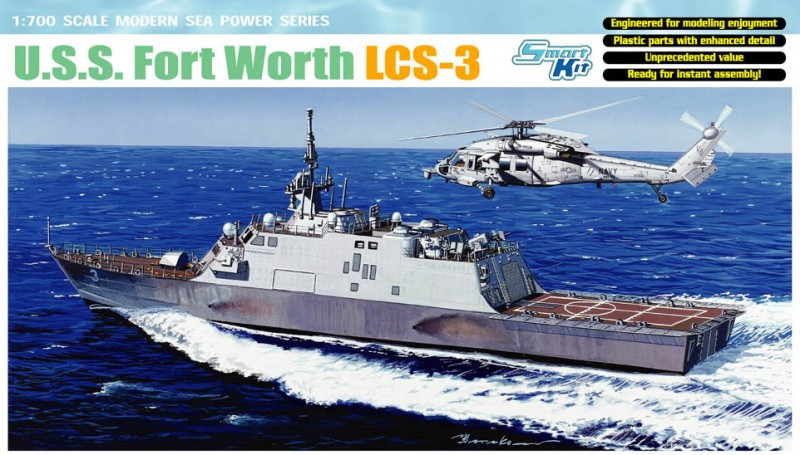 U. S. S. Fort Worth LCS-3 - DML 7129