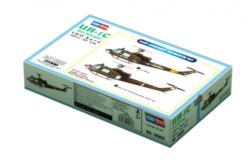 UH-1C Huey Helicopter - HOBBY BOSS 85803