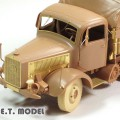 WWII German Heavy Halftrack L4500R MAULTIER - E. T. MODEL E35-135