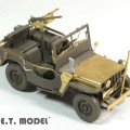 WWII U. S. Willys MB Jeep - E. T. MODEL E35-126
