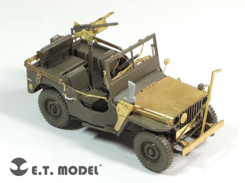 Wwii U S Willys Mb Jeep E T Model E35 126 Maquette