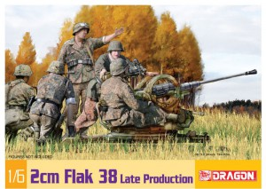 2cm Flak 38 Late Production - DML 75039