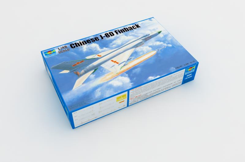 Chinese J-8D Finback - Trumpeter 02846