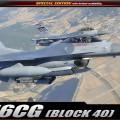 F-16CG - Blokk 40 - ACADEMY 12106