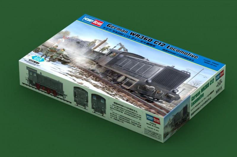 Alemán WR360 C12 Locomotora - HOBBY BOSS 82913