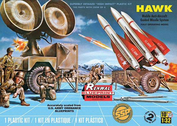 Hawk Missile Plastic Model Kit - Revell 85-7813