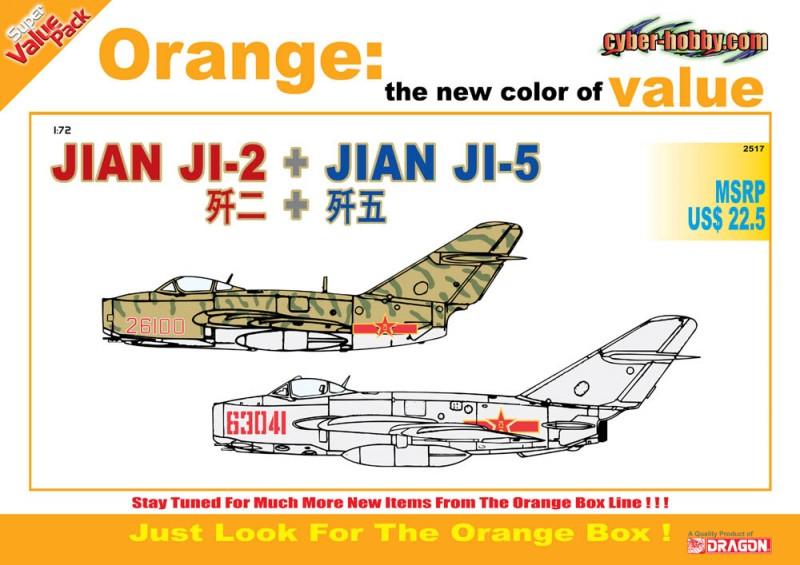 Jian Ji-2 + Jian Ji-5-Cyber-Hobby 2517