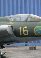 SAAB J-35 Draken - Procházka
