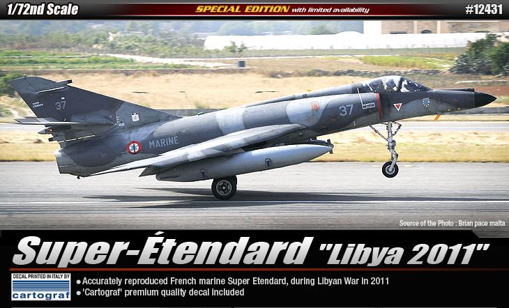 Super-Etendard - Libyen 2011 - ACADEMY 12431