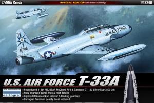 U.S. AIR FORCE T-33A - ACADEMY 12240