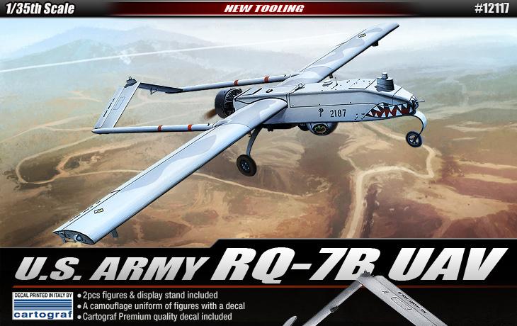 U. S. ARMY RQ-7 U - ACADEMIA 12117