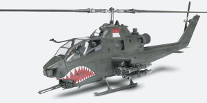 AH-1F Cobra Gunship Plastični Model Kit - Revell 85-5321